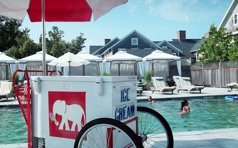 Poolside Snack Bar At White Elephant Village