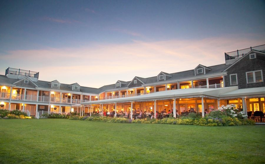 Dining Facility at White Elephant Hotel, Massachusetts Top