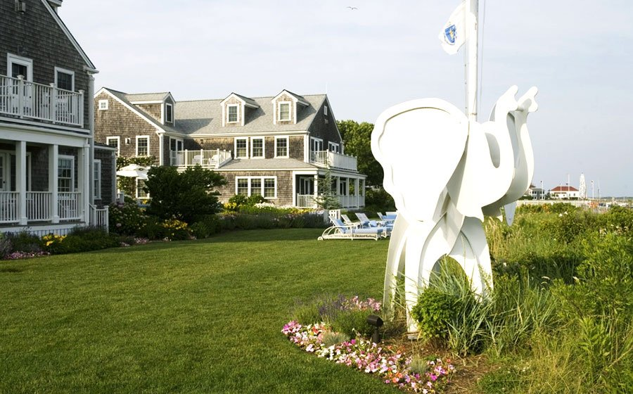 Front View of White Elephant Hotel, Massachusetts Top