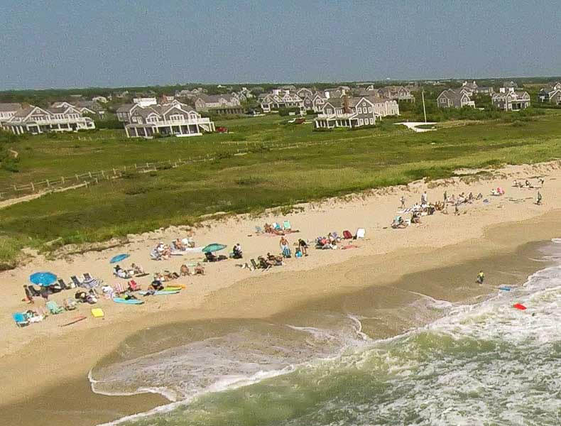 Surf Side Beach at nantucket