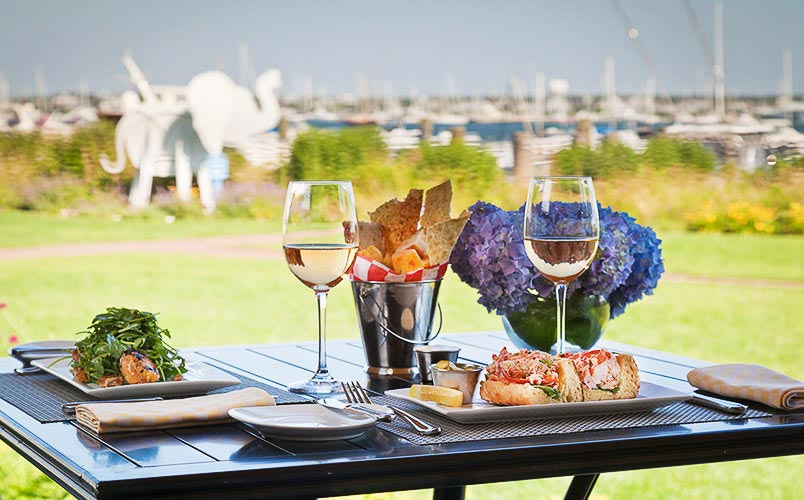 White Elephant Waterfront Nantucket Dining, nantucket